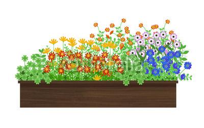 花壇 草むしり
